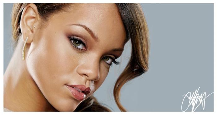 Rihanna Photorealistic